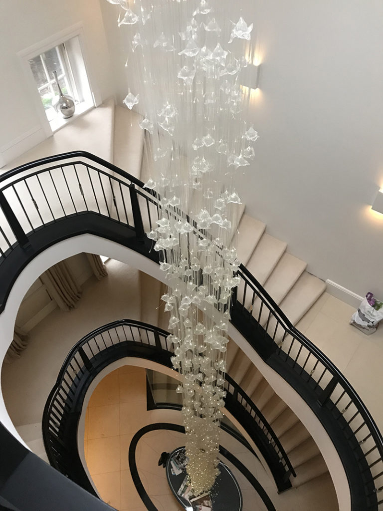 Chandelier Clean, Private Residence, London